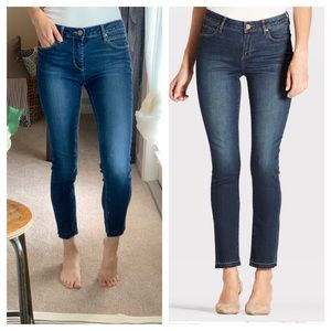Articles of Society Carly Cropped Released Hem